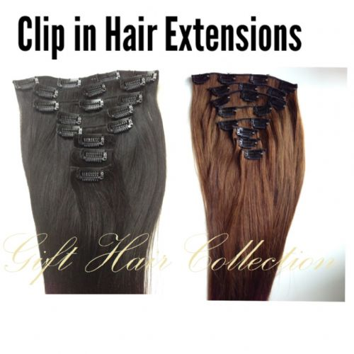 Clip in Hair Set of 8 Pcs Virgin Indian Hair